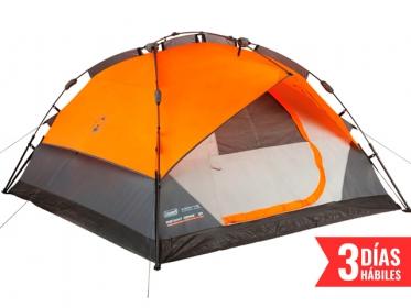 Carpa Instant Dome para 7 Personas Naranja Coleman 2000012220